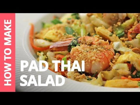 How to make Pad Thai Salad | Recipe by Plated Asia