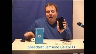 Samsung Galaxy J3 Speed Test