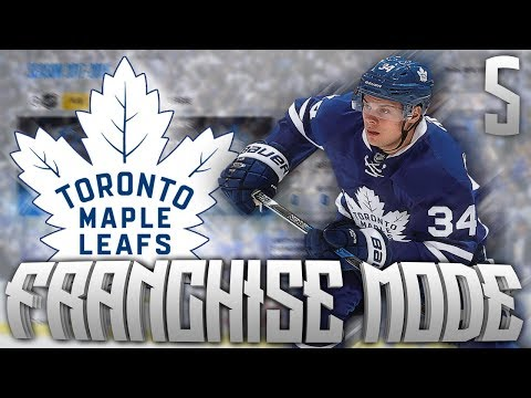NHL 18 Toronto Maple Leafs Franchise Mode #5 | Trade Deadline Day!!!
