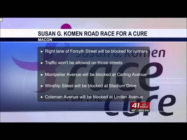 Road race road closures