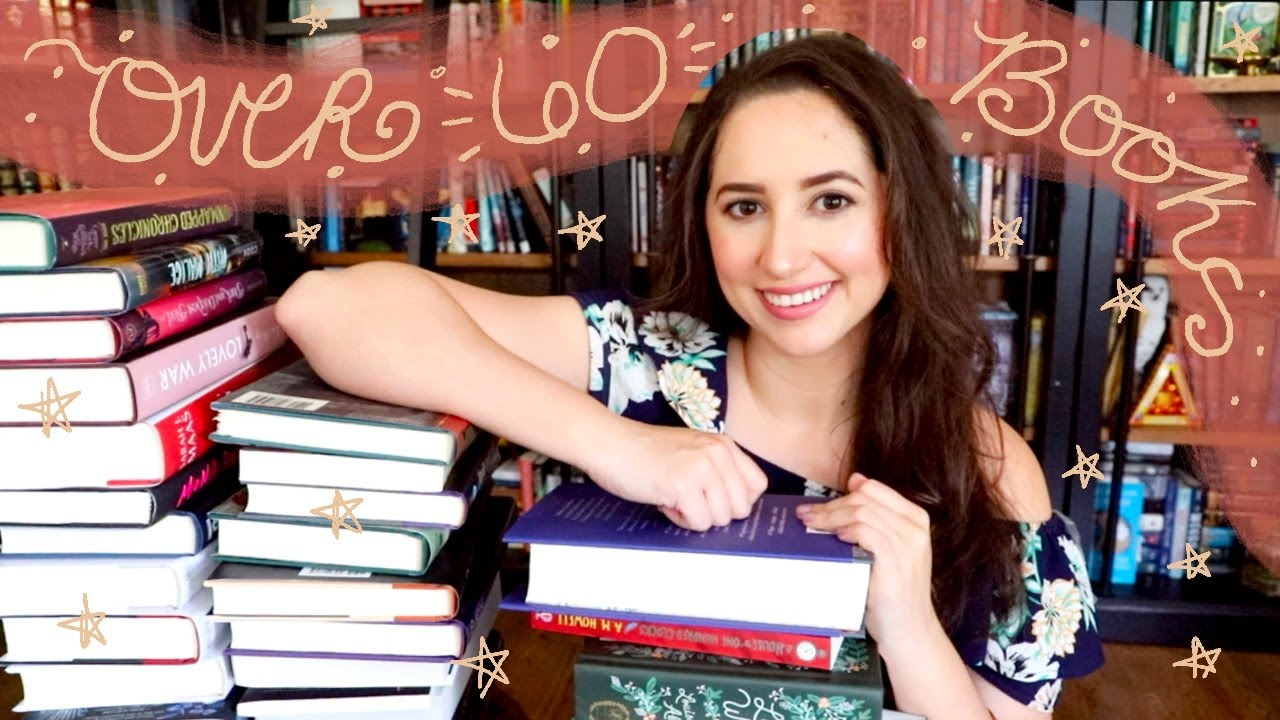My Biggest Book Haul Yet?! | OVER 60 BOOKS!!
