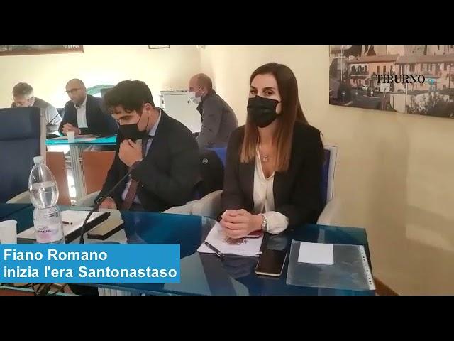 Fiano Romano - Inizia l'era Santonastaso