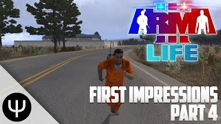 ARMA 3: Life Mod — First Impressions — Part 4 — Police in Pursuit!