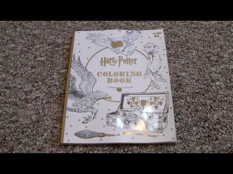 harry-potter-coloring-book-flip-through!