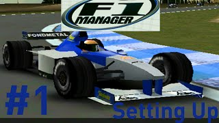 F1 Manager: Minardi Manager Career - Part 1 - Setting Up