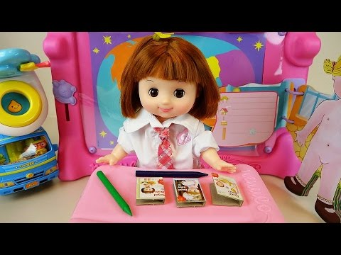Thumbnail: Baby Doll School play and toys with Pororo