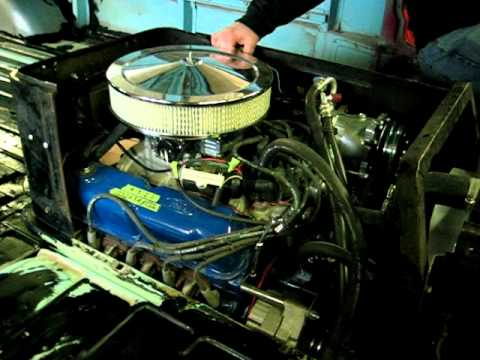 ford falcon econoline van engine running youtube