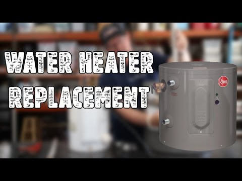 rheem-6-gallon-water-heater-unboxing-&-install