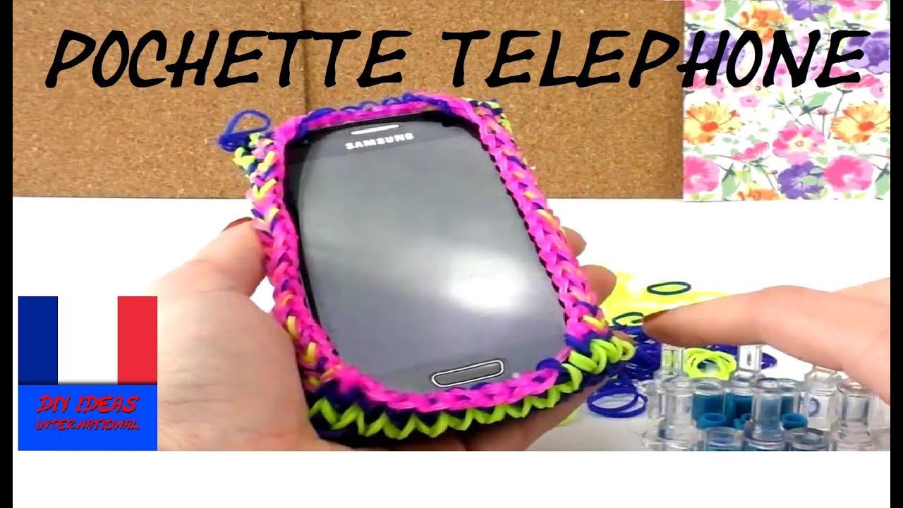 Comment faire une pochette pour portable tuto smartphone - Faire une araignee pour halloween ...