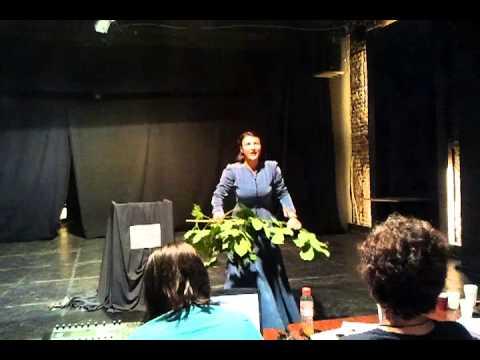 Maria Filotti monolog