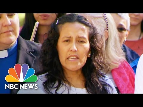 Mother Of Four Who Took Sanctuary At Church Gets Stay Of Deportation | NBC News