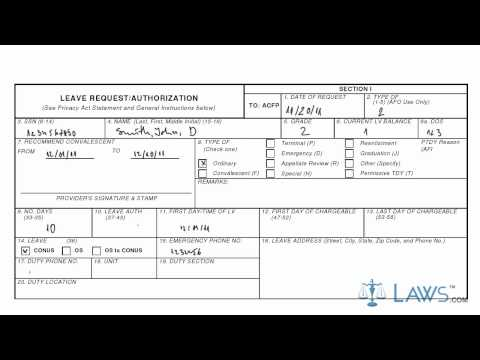 Military Leave Form Fill Online Printable Fillable Blank Leave - leave authorization form