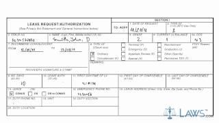 Erfahren Sie, Wie Füllen Sie den AF-FORM 988 Verlassen Anforderung/Genehmigung