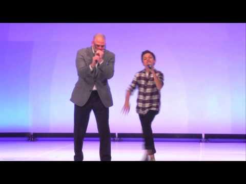 Premiere Beat Box - Michael David Palance and JJ Totah from Disney and Glee