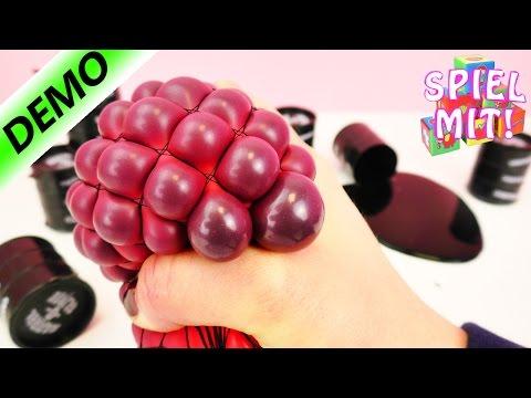 SQUISHY MESH BALL Selber Machen Deutsch | Riesige Slime Blasen machen! | Demo