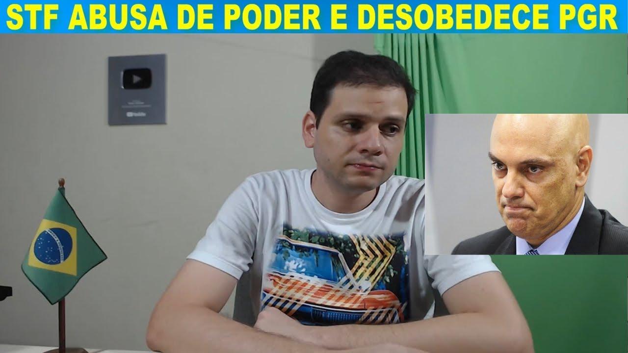 Alexandre de Moraes desrespeita Raquel Dodge e segue com o inquérito do STF