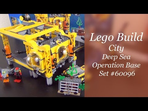 Let's Build - Lego City Deep Sea Operation Base Set #60096 - Part 3