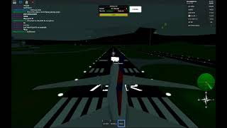 roblox flight with my friend in delta 767