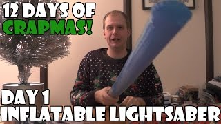 Inflatable Lightsaber   12 Days of Crapmas Day 1