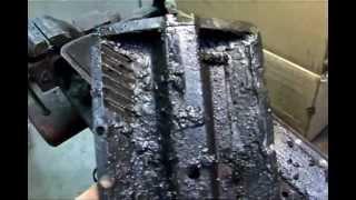 1955 Buick Century engine  (Crankcase Ventilation Mesh Replacement)