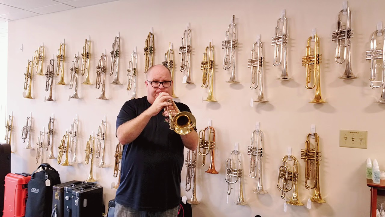 Pre Owned Bach Stradivarius 43 Trumpet For Sale At Acb Youtube