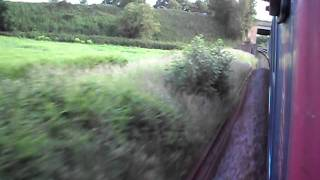 HST (43154)  Run from Wellington to Whiteball Tunnel