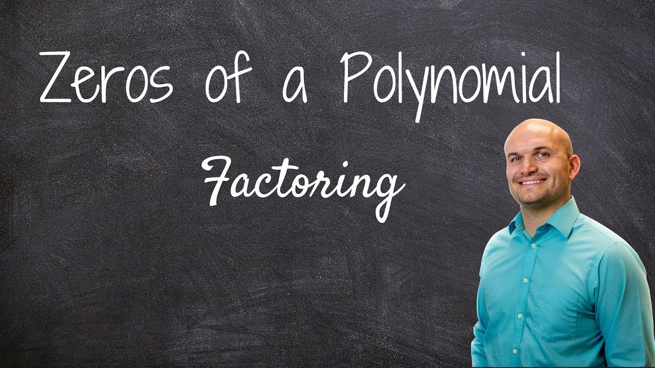 How To Find The Zeros Of A Polynomial Function By Factoring And Determine  Multiplicity