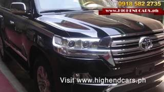 2016 TOYOTA LAND CRUISER SPORT BULLETPROOF INKAS ARMOR PHILIPPINES WWW.HIGHENDCARS.PH