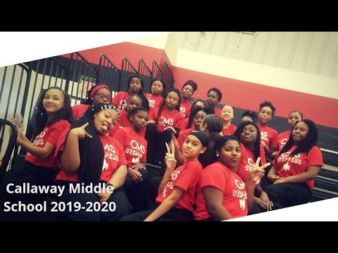 STEP TEAM/ SHOWING OUT!!! CALLAWAY MIDDLE SCHOOL STEPPERS
