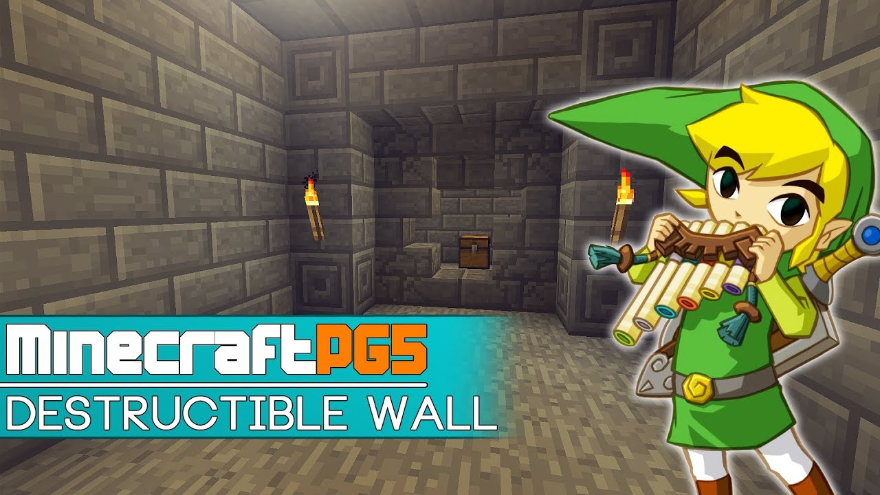 Destructible Walls For Adventure Maps Minecraft YouTube - Adventure maps fur minecraft