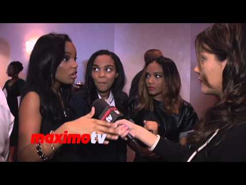 McClain Interview ► 2014 NAACP Image Awards Nominee's Luncheon ► China, Sierra, Lauryn
