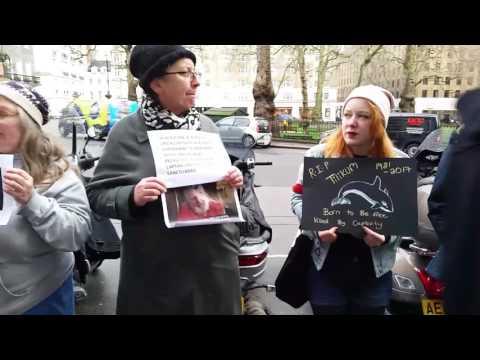 London: Remembering Tilikum