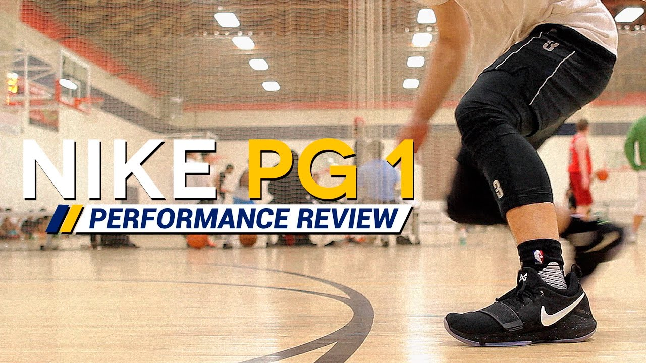 the latest f3b46 c8aef Nike PG 1 - Performance Review/Test (Paul George)