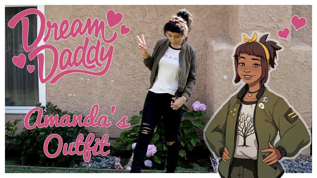 Amanda Dream Daddy dream daddy casual cosplay -amanda's outfit