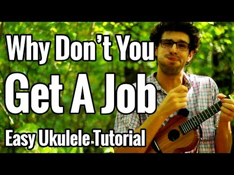 The Offspring   Why Don39t You Get A Job   Ukulele Tutorial With Easy Chords amp Play Along