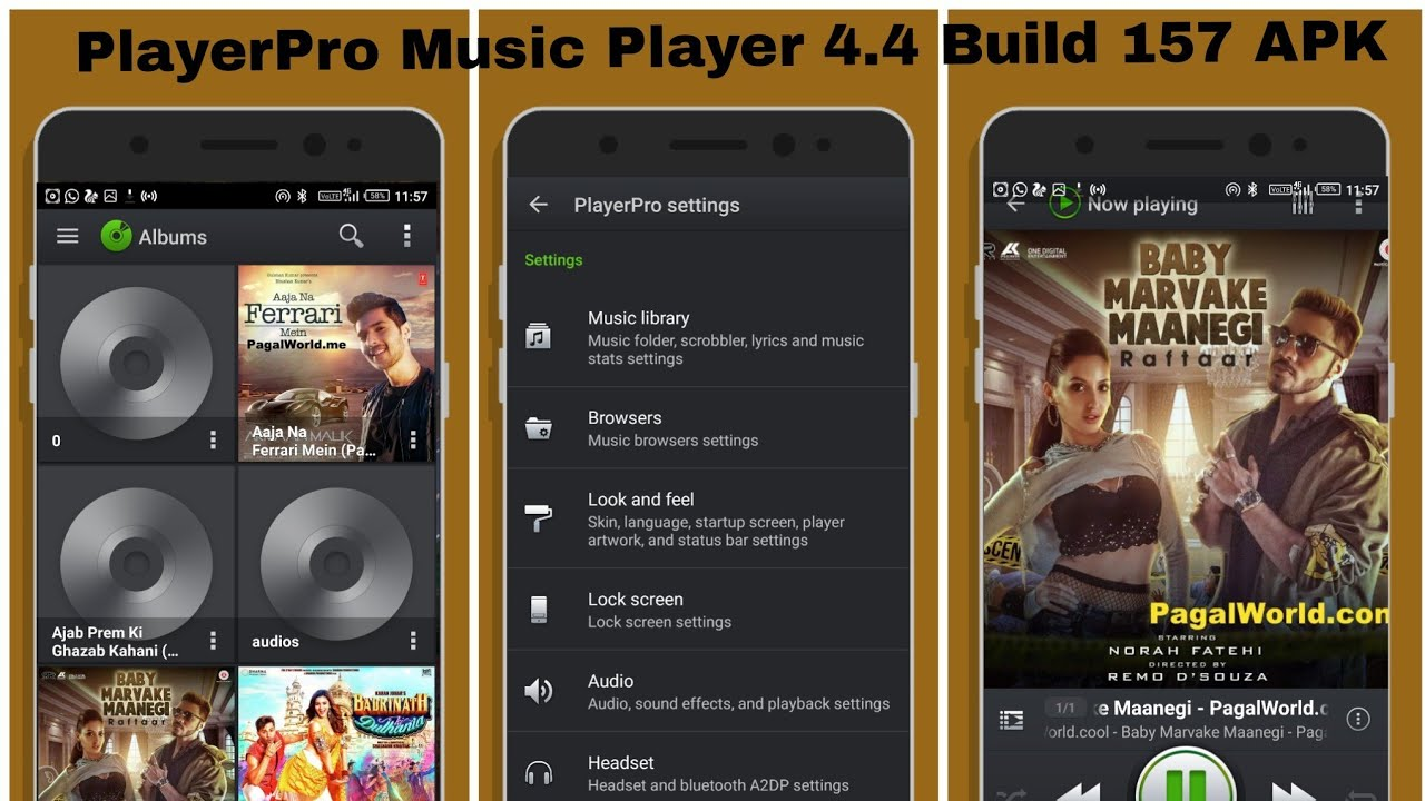 PlayerPro Music Player 4 4 Build 157 APK