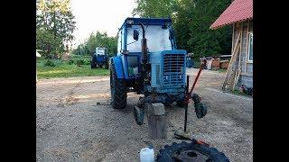 Belarus MTZ-82 restoration project. Part 15 | Front Axle Repair