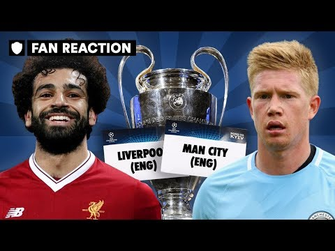 CAN LIVERPOOL BEAT MAN CITY IN THE UCL QUARTER-FINALS? | FAN REACTION!