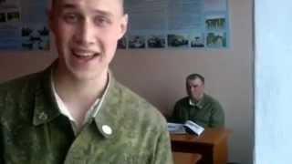 Солдат поёт очень круто