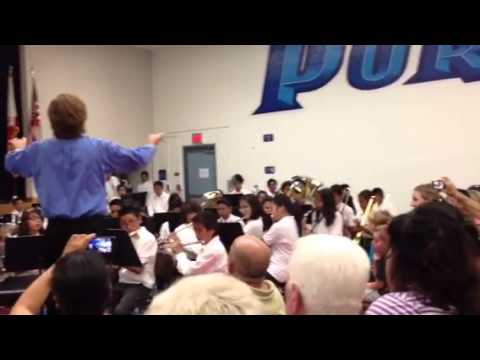 Portola Middle School - POP (end of year Concert) Medley