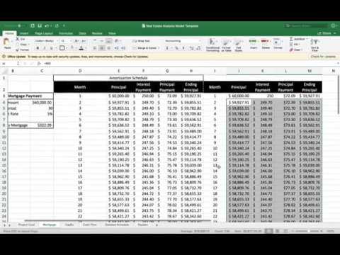 How To Create An Amortization Schedule In Excel To Pay Off A