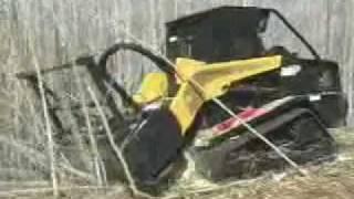 TEREX/ASV PT100 Track Loader Forestry Package Demo