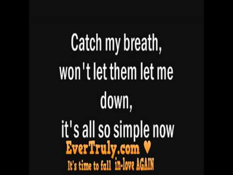Kelly Clarkson - Catch My Breath LYRICS from YouTube · Duration:  4 minutes 6 seconds