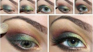 видео Техника макияжа глаз: красота зеркала души