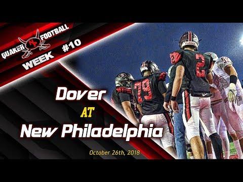 2018 WEEK #10 New Philadelphia vs Dover