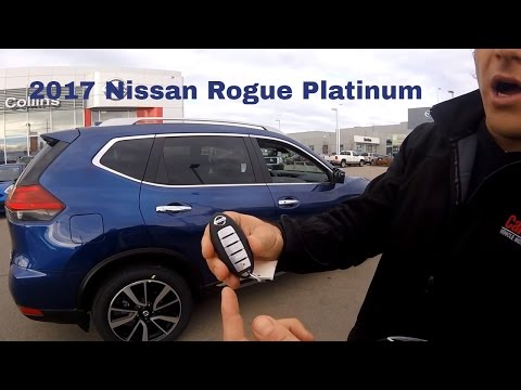 2017 Nissan Rogue SL Platinum In Depth Walk Around and Changes