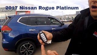 2017 Nissan Rogue SL Platinum In Depth Walk Around and Changes