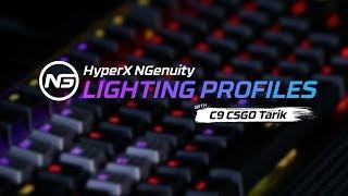 HyperX Alloy Elite RGB Color and Effect Setup with C9 CS:GO Tarik