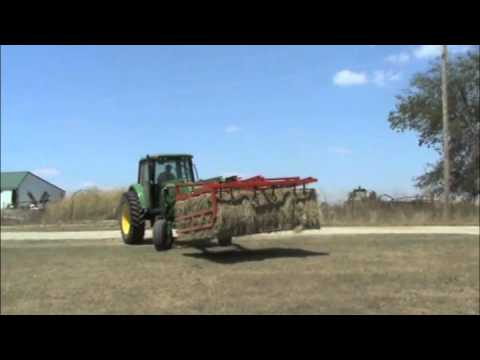 MEGAGRAPPLE Large Square Bale Hay Handling Equipment