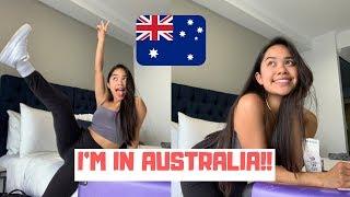 IM FINALLY IN AUSTRALIA! (study Abroad) | VLOG